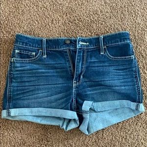 Hollister size 7 high rise shorts
